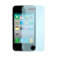 Crystal Clear Screen Protector for iPhone 4/4s (Blue)