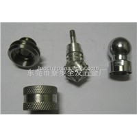 Custom Auto lathe turning complex nuts parts,can small orders,with competitive price