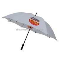 Double Ribs Windproof Golf Umbrella