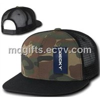 Fashion Camouflage Trucker Cap, Camouflage Mesh Hats