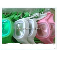 Fashion Squire Design Silicone Jelly Watch