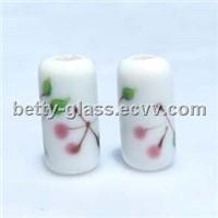 Glass Pandora Beads, Glass Jewelry, Glass Bracelet