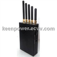 Handheld 5 Bands 3G 4G Cell Phone Jammer+Signal Jammer-SJ8001