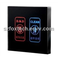 Hotel Door Bell Switch, Door Signage, Room Number Led Display with DND