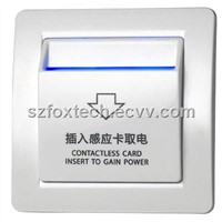 Hotel Wall Switch, Energy Saving Switch, Key Card Switch