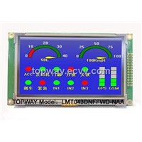 "Industrial 4.3"" inch TFT LCD Module with Touch Panel"