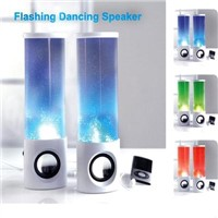 LED Flashing Speaker/LED Dancing Speakers/Mini Portable Speakers for Computer