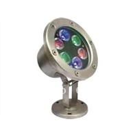 LED swimming pool light 6W AC12V 15, 30, 45 waterproof IP68