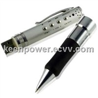 MP3 Player USB Pen Voice Recorder with FM Tuner - 4GB (PC5005)
