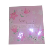 Melody Flashing Greeting Card