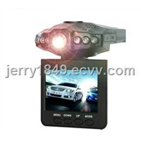Mini Portable HD Car DVR 2.5 inch 270 degree Rotatable with 6 Night Version IR LEDs