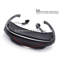 Mobile Theatre Video Glasses - Movies on 72 Inch Virtual Screen-SSC6008