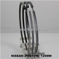 PD6 Nissan heavy truck piston ring 12040-90029,12040-96009