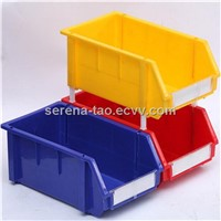 Plastic bins, Stackable storage bin ,Plastic part  bins