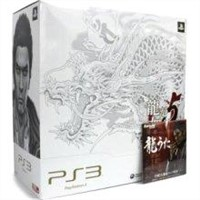Playstation3 New Slim Console - Ryu Ga Gotoku 5 Em