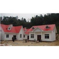 Prefabricated steel structure house LIGHT STEEL VILLA