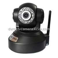 Protocol P2P WIFI SD card storage H264 CMOS CIF 30 FPS network IP Camera