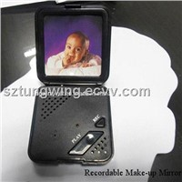 Recordable Make-Up Mirror