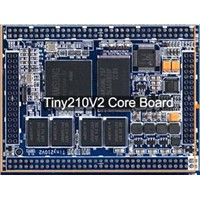 S5PV210 CPU Module, 512MB DDR2 RAM, 2GB Flash, Ethernet, Audio on board