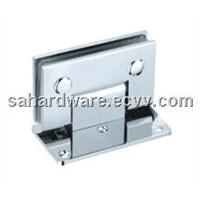 SA-H 101 square 90 degree single bathroom glass hinge