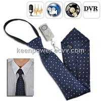 Spy Camera Tie with Wireless Remote - 4GB DVR Built-in /HC1013