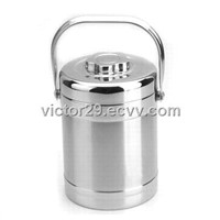 Stainless steel hot food double layers vacuum thermos containers