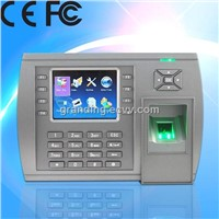 Stand alone access control system fingerprint recognition with time attendance