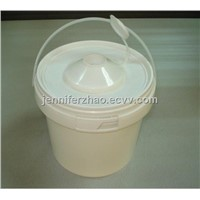 Plastic Wipes Bucket with Insert ,Bathroom Tissue Holder