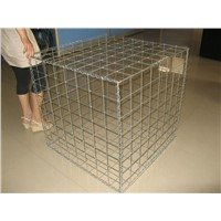 Welded gabion box and basket