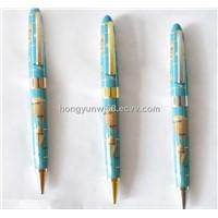 ball pen Map resin pen