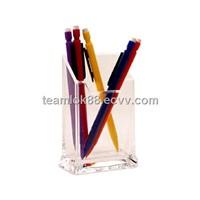 Beautiful Color Acrylic Pen Pot/Acrylic Pen Holder Wholesale