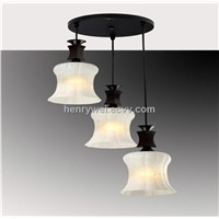 e27 white glass pendant lighting for kitchen lighting