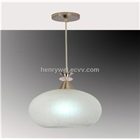 glass white pendant lights