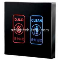 Hotel Doorbell System, Door Signage, Hotel Door Bell, Don't Disturb Switch FDS-004B
