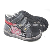 kid leather shoes kid leisure casual shoes with NUBUCK LEATHER +COW SUEDE