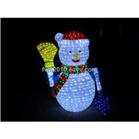 led Christmas snowman