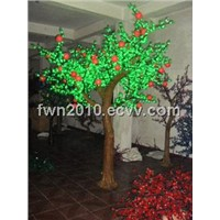 led apple trees, park lighting fixtures