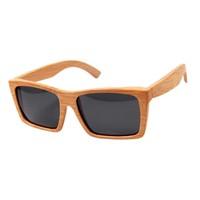 Natural Bamboo Sunglasses, Unique Style