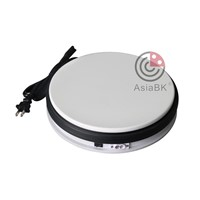 plastic electric rotating display base