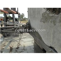 concrete wire saw, wire saw machine and concrete chain saw cutter