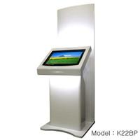 22inch self service wayfinding kiosk terminal (K22BP)