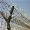 Welded Wire Mesh Fence + Razor Wire, Various Mesh Sizes are Available