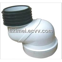 G01/02 UPVC connector for urinal and drain