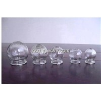 Glass cupping the sun glass jars, storage glass jars, sealed glass jars