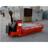 Pallet Truck for Mould Transport with Conveyor