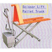 Scissor Lift Pallet Truck JE5210 Electric type