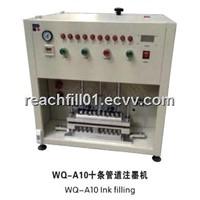 WQ-A10 Ten Tubes Ink Filling Machine