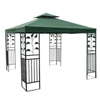 10'x10' Steel leaf  Gazebo