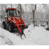1200kg Wheeled Loader ZL12F with Snow Plow