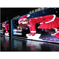 1/8 Scan P6 Indoor Full Color LED Display Billboard , 27778 Dots/Sqm Sports Digital Displays